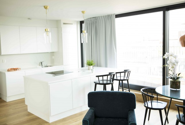 2-bedroom penthouse apartment (Max 5 persons)
