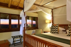 Lodge Waterhole facing Suite Single