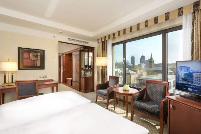 间豪华客房可使用休息室