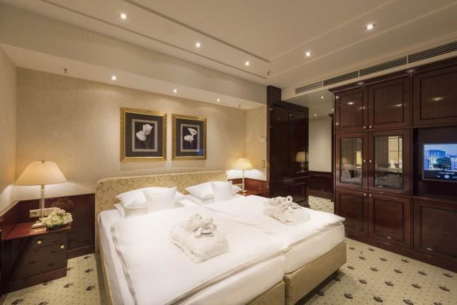 间总统套房可使用休息室