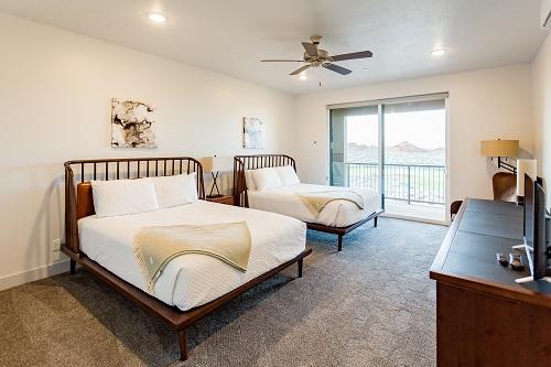 1 Bedroom Double Suite