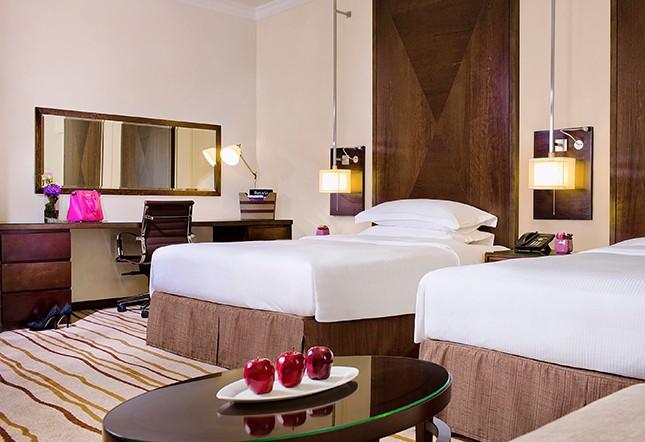 高级客房-两张单人床