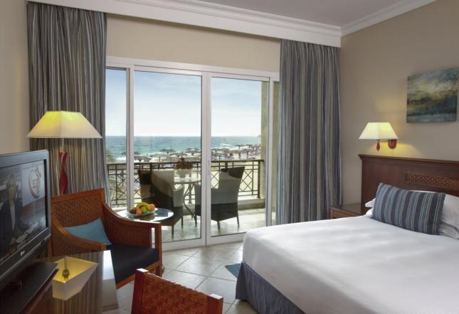 Premium Zimmer Balkon Meerblick - Kingsize-Bett