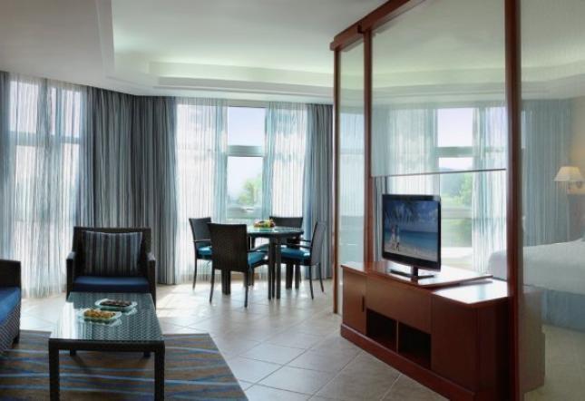 Klassik Suite mit Gartenblick