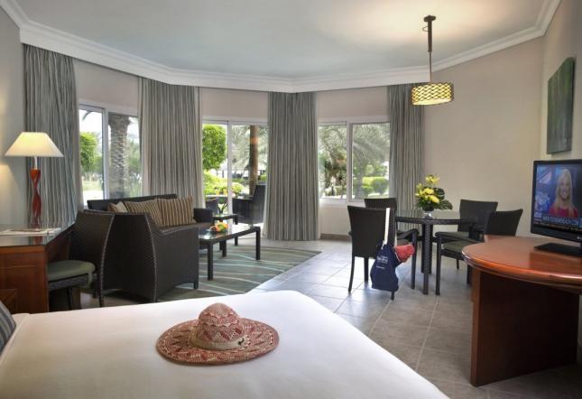 Deluxe Suite Terrace und Gartenblick