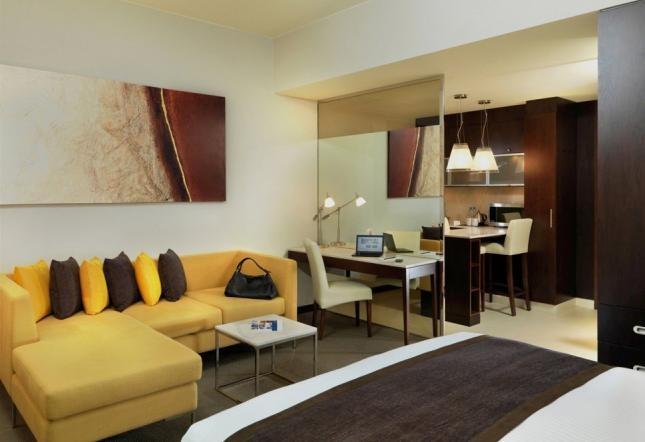 中心单间公寓 – 大床房