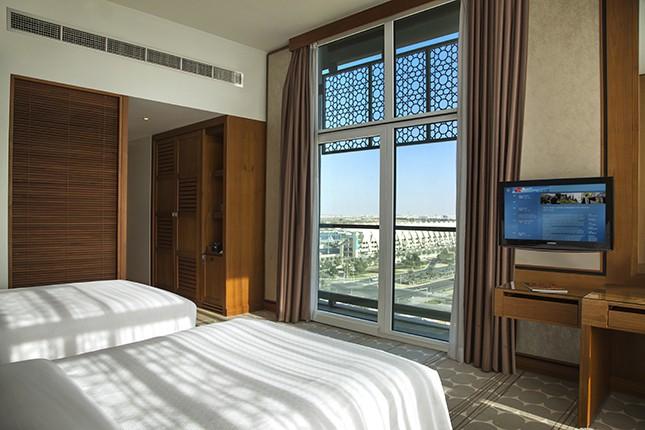 Habitación Club Rotana - dos camas individuales
