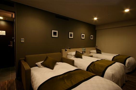豪華雙床房 配有沙發床(禁煙)